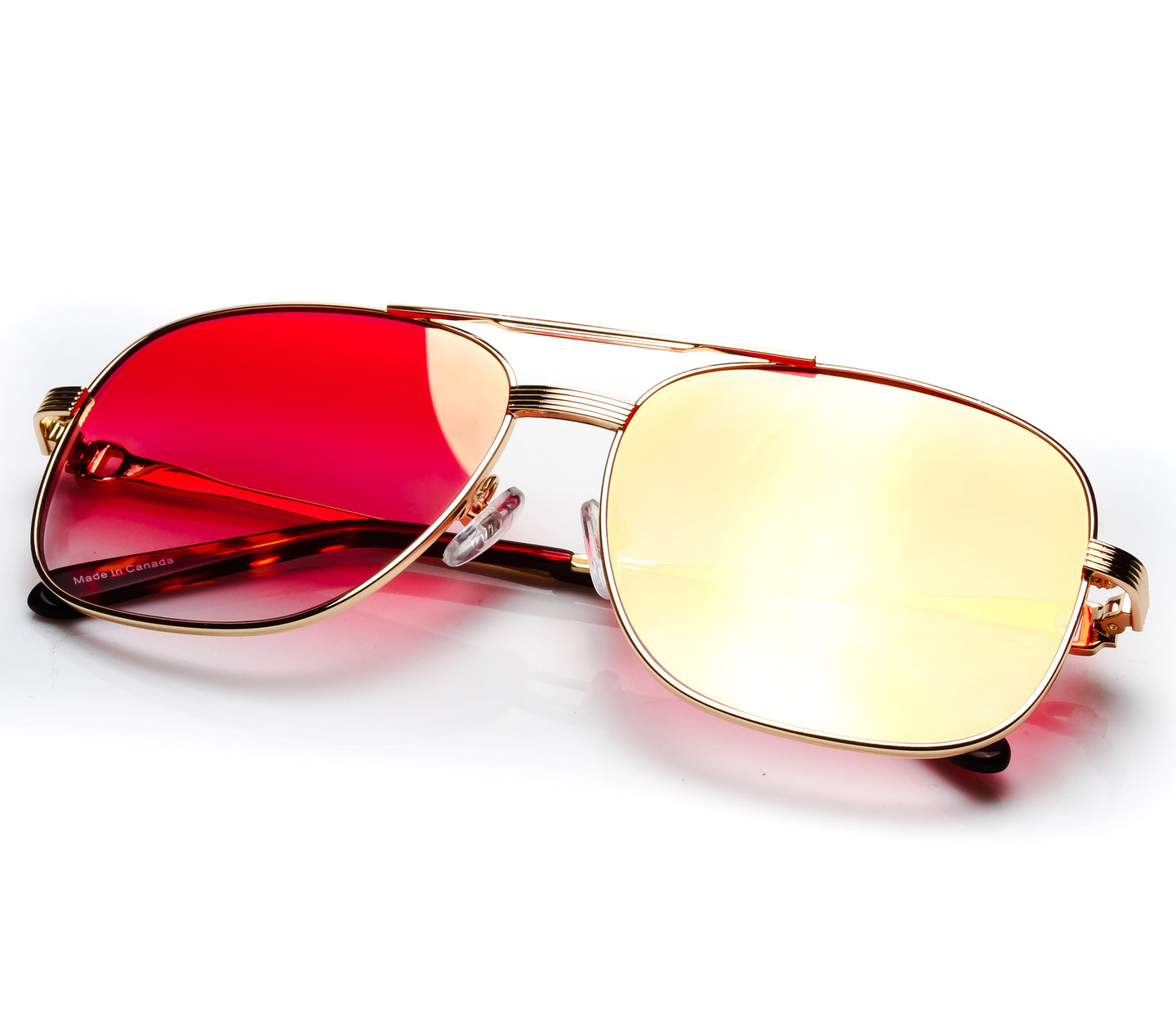 VF by Vintage Frames Master (Red Flash Gold Flat Lens) Thumbnail