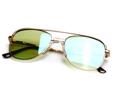VF by Vintage Frames Amigo (Flash Green Strip Mirror) Thumbnail, VF by Vintage Frames, glasses frames, eyeglasses online, eyeglass frames, mens glasses, womens glasses, buy glasses online, designer eyeglasses, vintage sunglasses, retro sunglasses, vintage glasses, sunglass, eyeglass, glasses, lens, vintage frames company, vf
