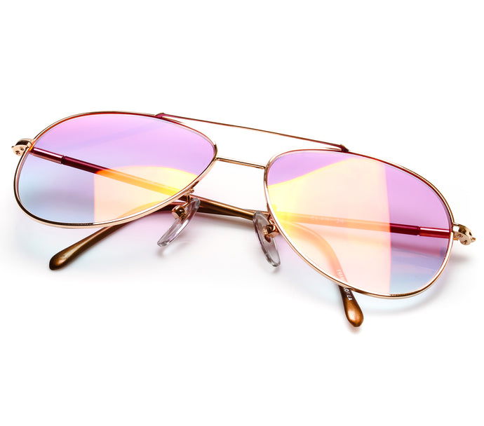 VF by Vintage Frames Donnie Brasco (Candy Pink Gradient Multi Flash Lens) Thumbnail