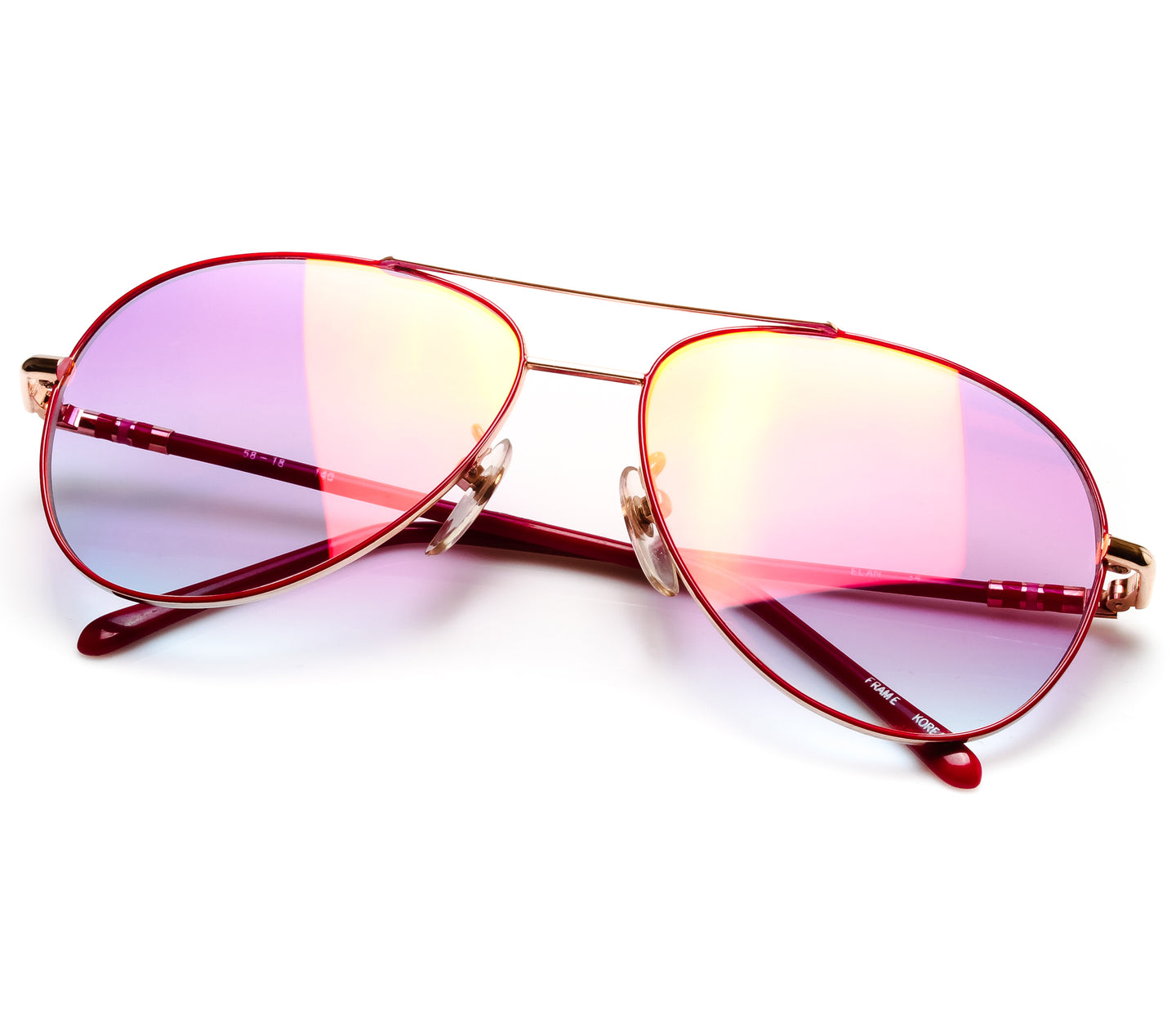 VF by Vintage Frames Lefty (Candy Pink Gradient Multi Flash Lens) Thumbnail
