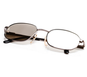 VF by Vintage Frames Detroit Player Southside Platinum (Light Smoke Mirror Flat Lens) Thumbnail