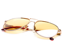 VF by Vintage Frames Grand Master Snatch Drip OG  (Amber Strip Lens) Thumbnail