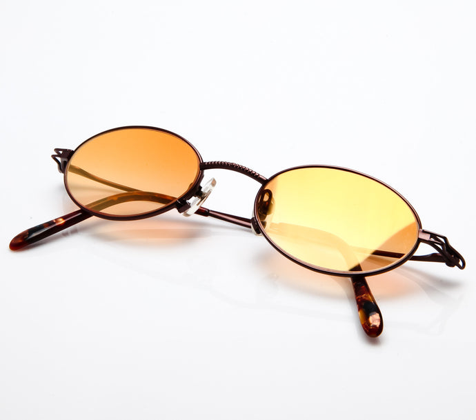 Paolo Gucci 7456 HINI 21k Gold Plated Flat Lens
