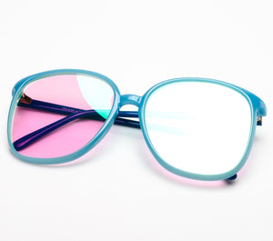 VF by Vintage Frames Ivy (Pink Multi Flash Flat Lens)