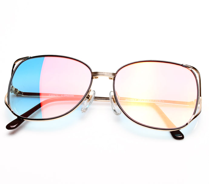 Bentley Shadows-7 (Pink Blue Multi Flash Flat Lens) Thumbnail, Bentley, vintage frames, vintage frame, vintage sunglasses, vintage glasses, retro sunglasses, retro glasses, vintage glasses, vintage designer sunglasses, vintage design glasses, eyeglass frames, glasses frames, sunglass frames, sunglass, eyeglass, glasses, lens, jewelry, vintage frames company, vf