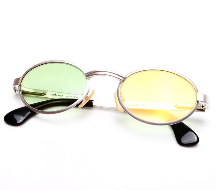 Burberry B 8815/S 5EB (Field Green Gradient Flash Gold Flat Lens) Thumbnail, Burberry, vintage frames, vintage frame, vintage sunglasses, vintage glasses, retro sunglasses, retro glasses, vintage glasses, vintage designer sunglasses, vintage design glasses, eyeglass frames, glasses frames, sunglass frames, sunglass, eyeglass, glasses, lens, jewelry, vintage frames company, vf