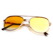 Amigo OG Yellow Gradient Thumbnail, VF by Vintage Frames, glasses frames, eyeglasses online, eyeglass frames, mens glasses, womens glasses, buy glasses online, designer eyeglasses, vintage sunglasses, retro sunglasses, vintage glasses, sunglass, eyeglass, glasses, lens, vintage frames company, vf