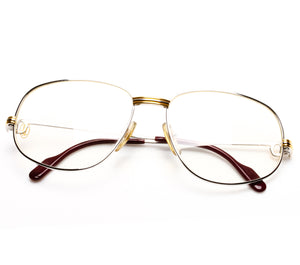 Cartier Romance Platino Thumbnail, Cartier, glasses frames, eyeglasses online, eyeglass frames, mens glasses, womens glasses, buy glasses online, designer eyeglasses, vintage sunglasses, retro sunglasses, vintage glasses, sunglass, eyeglass, glasses, lens, vintage frames company, vf