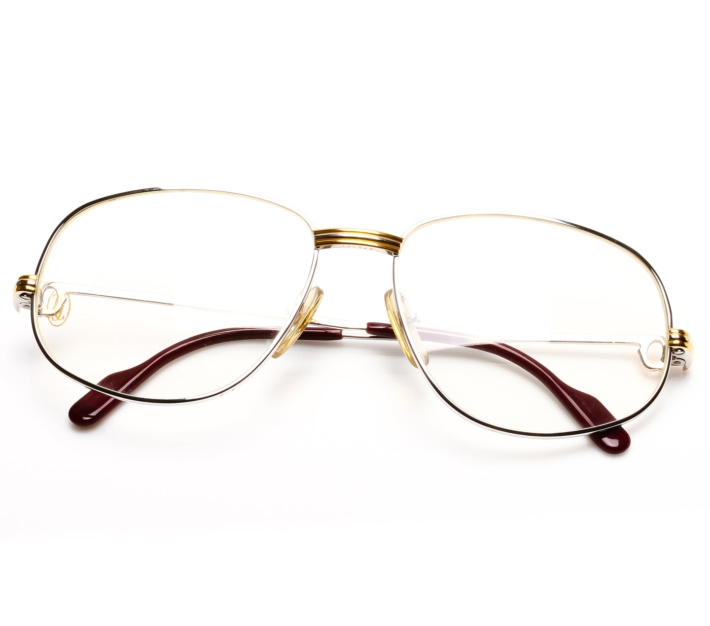Cartier Romance Platino Thumbnail, Cartier , glasses frames, eyeglasses online, eyeglass frames, mens glasses, womens glasses, buy glasses online, designer eyeglasses, vintage sunglasses, retro sunglasses, vintage glasses, sunglass, eyeglass, glasses, lens, vintage frames company, vf