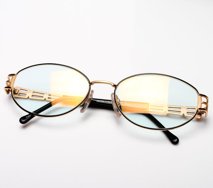 Carolina Herrera CH 720 ( Clear Flash Gold Curved Lens ) Thumbnail, Carolina Herrera, vintage frames, vintage frame, vintage sunglasses, vintage glasses, retro sunglasses, retro glasses, vintage glasses, vintage designer sunglasses, vintage design glasses, eyeglass frames, glasses frames, sunglass frames, sunglass, eyeglass, glasses, lens, jewelry, vintage frames company, vf