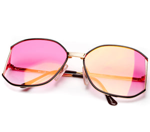 Bougie Bright Pink Gradient Thumbnail, VF by Vintage Frames, glasses frames, eyeglasses online, eyeglass frames, mens glasses, womens glasses, buy glasses online, designer eyeglasses, vintage sunglasses, retro sunglasses, vintage glasses, sunglass, eyeglass, glasses, lens, vintage frames company, vf