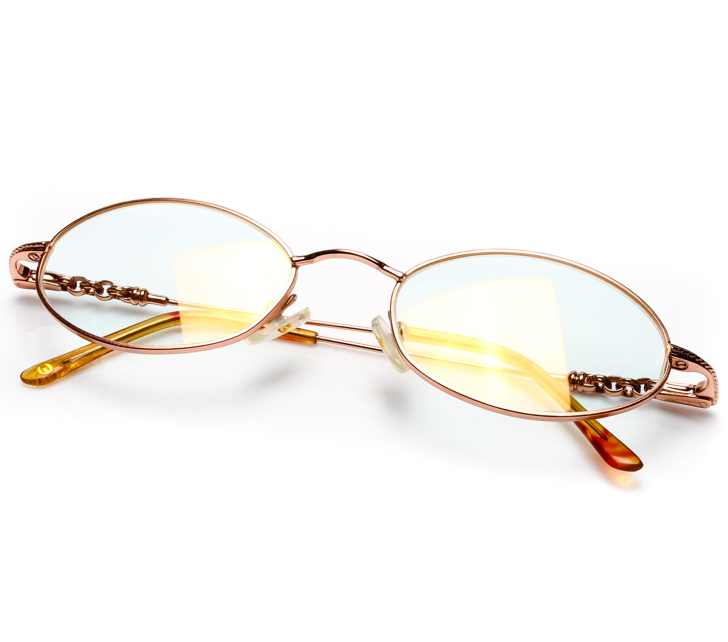 VF by Vintage Frames Chain Gang 2 (Clear Flash Gold) Thumbnail, VF by Vintage Frames , glasses frames, eyeglasses online, eyeglass frames, mens glasses, womens glasses, buy glasses online, designer eyeglasses, vintage sunglasses, retro sunglasses, vintage glasses, sunglass, eyeglass, glasses, lens, vintage frames company, vf