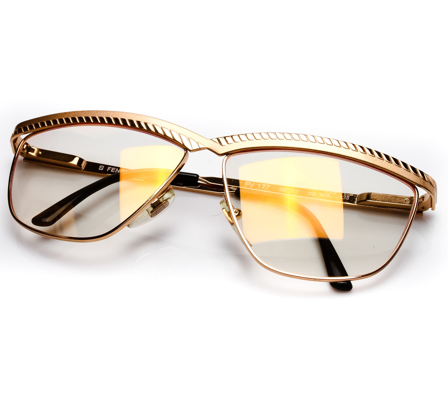 Fendi FV177 Thumbnail, Fendi , glasses frames, eyeglasses online, eyeglass frames, mens glasses, womens glasses, buy glasses online, designer eyeglasses, vintage sunglasses, retro sunglasses, vintage glasses, sunglass, eyeglass, glasses, lens, vintage frames company, vf