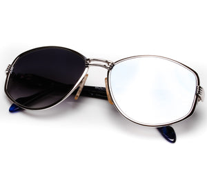 Neostyle Boutique 675824 (Grey Gradient Flash Blue Flat Lens)
