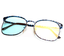 VF by Vintage Frames 90210 Blue Marble Thumbnail, VF by Vintage Frames, glasses frames, eyeglasses online, eyeglass frames, mens glasses, womens glasses, buy glasses online, designer eyeglasses, vintage sunglasses, retro sunglasses, vintage glasses, sunglass, eyeglass, glasses, lens, vintage frames company, vf