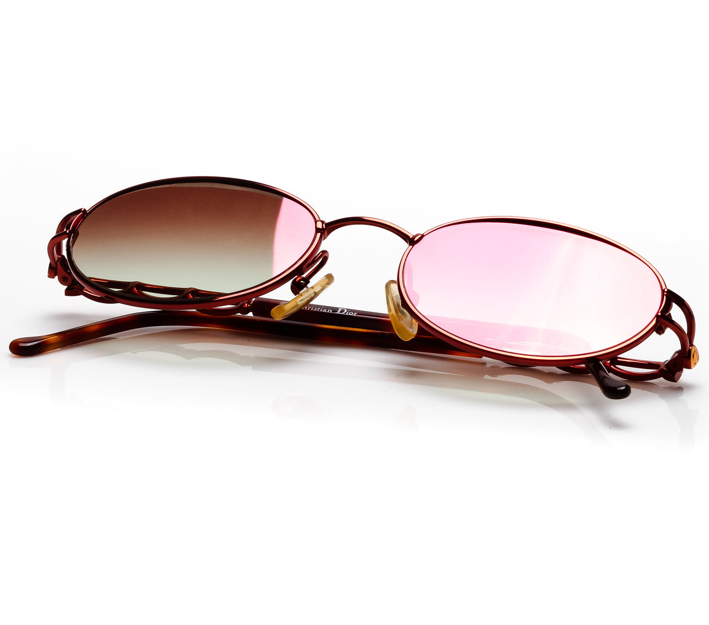 Christian Dior 3534 15R 135 (Light Brown Gradient Flash Red) Thumbnail