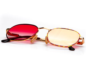 VF by Vintage Frames Bentley Detroit Player (Red Gradient Flash Gold Flat Lens) Thumbnail