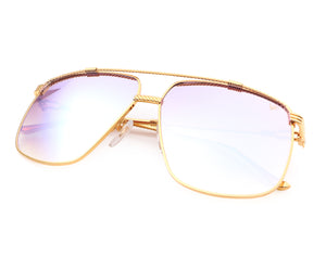 VF Cash 24KT Gold (Electric Purple Multi Flash Gradient), VF Masterpiece, vintage frames, vintage frame, vintage sunglasses, vintage glasses, retro sunglasses, retro glasses, vintage glasses, vintage designer sunglasses, vintage design glasses, eyeglass frames, glasses frames, sunglass frames, sunglass, eyeglass, glasses, lens, jewelry, vintage frames company, vf