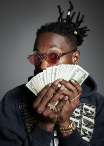 Joey Badass Red 3, VF by Vintage Frames, glasses frames, eyeglasses online, eyeglass frames, mens glasses, womens glasses, buy glasses online, designer eyeglasses, vintage sunglasses, retro sunglasses, vintage glasses, sunglass, eyeglass, glasses, lens, vintage frames company, vf