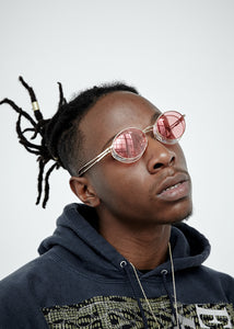 Joey Badass Red 1, VF by Vintage Frames, glasses frames, eyeglasses online, eyeglass frames, mens glasses, womens glasses, buy glasses online, designer eyeglasses, vintage sunglasses, retro sunglasses, vintage glasses, sunglass, eyeglass, glasses, lens, vintage frames company, vf