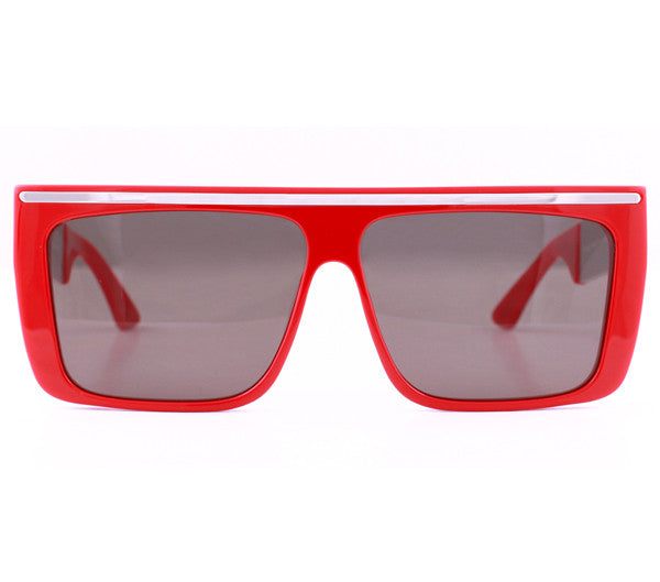 Vintage Frames by Corey Shapiro Love/Hate II Red/Silver Front