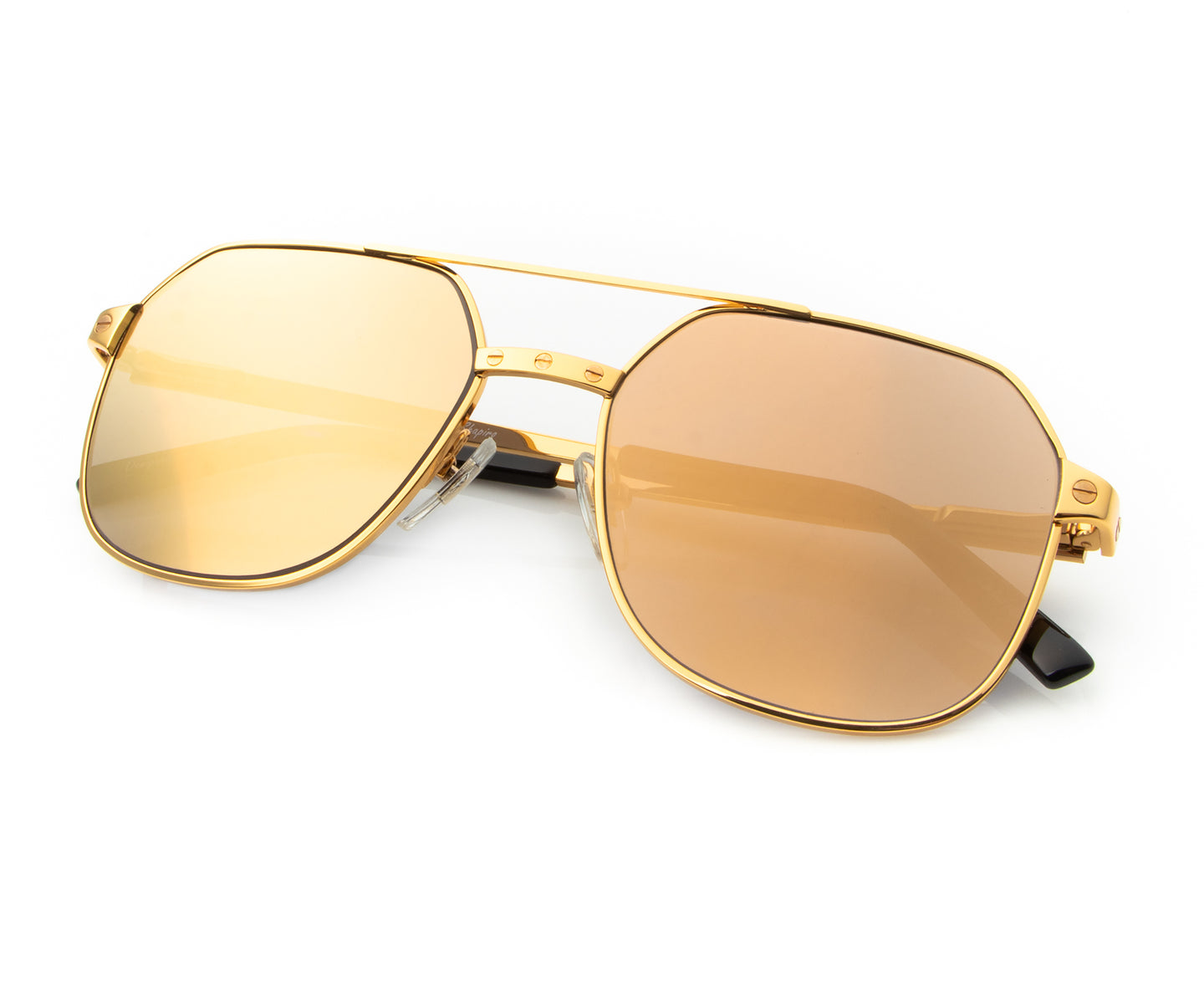 Love Collection: Escobar 24KT Gold (Revo Brown), VF Masterpiece , glasses frames, eyeglasses online, eyeglass frames, mens glasses, womens glasses, buy glasses online, designer eyeglasses, vintage sunglasses, retro sunglasses, vintage glasses, sunglass, eyeglass, glasses, lens, vintage frames company, vf