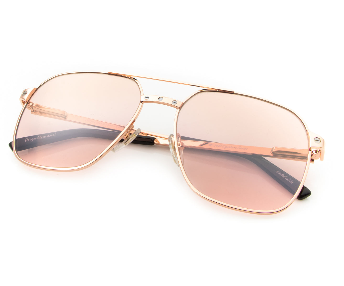 Love Collection: XL 24KT Rose Gold (Dusty Rose), VF Masterpiece , glasses frames, eyeglasses online, eyeglass frames, mens glasses, womens glasses, buy glasses online, designer eyeglasses, vintage sunglasses, retro sunglasses, vintage glasses, sunglass, eyeglass, glasses, lens, vintage frames company, vf