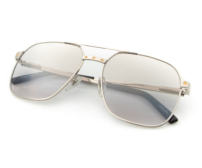 Love Collection: XL 24KT White Gold (Smoke Gray), VF Masterpiece, vintage frames, vintage frame, vintage sunglasses, vintage glasses, retro sunglasses, retro glasses, vintage glasses, vintage designer sunglasses, vintage design glasses, eyeglass frames, glasses frames, sunglass frames, sunglass, eyeglass, glasses, lens, jewelry, vintage frames company, vf