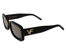 VF Manhattan Black (Gold Flash Mirror), VF Masterpiece, glasses frames, eyeglasses online, eyeglass frames, mens glasses, womens glasses, buy glasses online, designer eyeglasses, vintage sunglasses, retro sunglasses, vintage glasses, apparel, jewelry, designer, gold, vintage frames company, vf