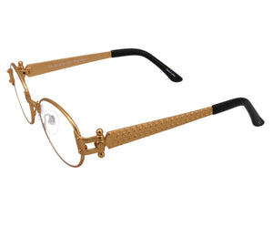 VF 2000 24KT Satin Gold Masterpiece (Yellow Multiflash), VF Masterpiece, glasses frames, eyeglasses online, eyeglass frames, mens glasses, womens glasses, buy glasses online, designer eyeglasses, vintage sunglasses, retro sunglasses, vintage glasses, sunglass, eyeglass, glasses, lens, vintage frames company, vf