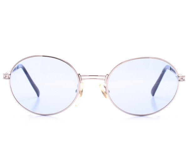 Moschino by Persol MM525 NS 48 Front, lens, vintage lens, clear lens, lens frames, lens frame, circle lens, mens glasses, womens glasses, lens width, vintage frames company, vf