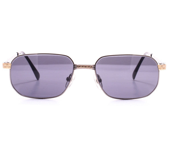 Vintage Paolo Gucci 8111 H1N1 21k Gold Plated Sunglasses Front