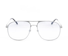 VF Snatch 18KT White Gold (Blue Slate) Front, VF by Vintage Frames, glasses frames, eyeglasses online, eyeglass frames, mens glasses, womens glasses, buy glasses online, designer eyeglasses, vintage sunglasses, retro sunglasses, vintage glasses, sunglass, eyeglass, glasses, lens, vintage frames company, vf