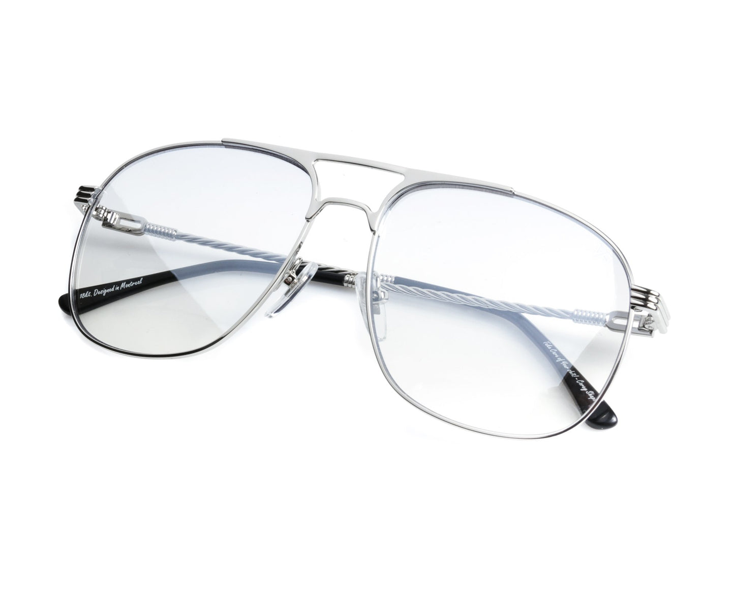 VF Snatch 18KT White Gold (Blue Slate) Thumb, VF by Vintage Frames , glasses frames, eyeglasses online, eyeglass frames, mens glasses, womens glasses, buy glasses online, designer eyeglasses, vintage sunglasses, retro sunglasses, vintage glasses, sunglass, eyeglass, glasses, lens, vintage frames company, vf