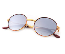 VF 508 Tortoise 18KT Gold (Gray / Blue Gradient), VF by Vintage Frames, glasses frames, eyeglasses online, eyeglass frames, mens glasses, womens glasses, buy glasses online, designer eyeglasses, vintage sunglasses, retro sunglasses, vintage glasses, sunglass, eyeglass, glasses, lens, vintage frames company, vf
