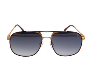 VF Snatch Tortoise 18KT Gold (Gray / Blue Gradient), VF by Vintage Frames, glasses frames, eyeglasses online, eyeglass frames, mens glasses, womens glasses, buy glasses online, designer eyeglasses, vintage sunglasses, retro sunglasses, vintage glasses, sunglass, eyeglass, glasses, lens, vintage frames company, vf