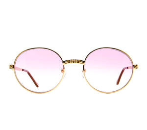 VF 24KT Masterpiece (Candy Pink) Front, VF Masterpiece, glasses frames, eyeglasses online, eyeglass frames, mens glasses, womens glasses, buy glasses online, designer eyeglasses, vintage sunglasses, retro sunglasses, vintage glasses, sunglass, eyeglass, glasses, lens, vintage frames company, vf