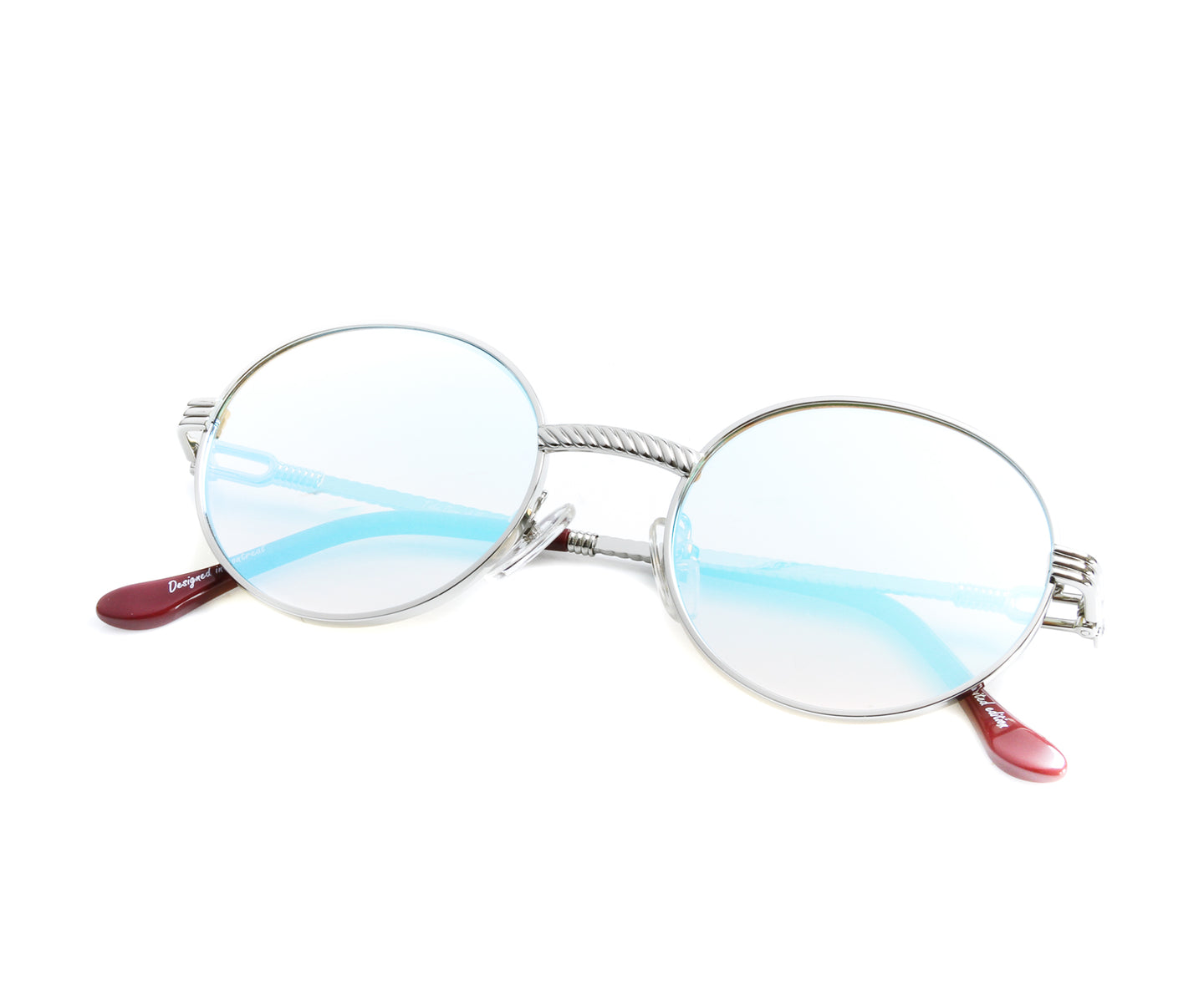 VF 508 18KT White Gold (Candy Green), VF by Vintage Frames , glasses frames, eyeglasses online, eyeglass frames, mens glasses, womens glasses, buy glasses online, designer eyeglasses, vintage sunglasses, retro sunglasses, vintage glasses, sunglass, eyeglass, glasses, lens, vintage frames company, vf