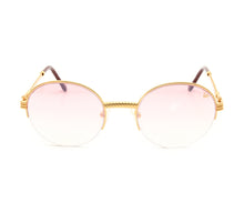 VF 508 Half Rim 18KT Gold (Nickel Pink) Front,VF by Vintage Frames , glasses frames, eyeglasses online, eyeglass frames, mens glasses, womens glasses, buy glasses online, designer eyeglasses, vintage sunglasses, retro sunglasses, vintage glasses, sunglass, eyeglass, glasses, lens, vintage frames company, vf