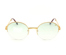 VF 508 Half Rim 18KT Gold (Powder Green) Front, VF by Vintage Frames, glasses frames, eyeglasses online, eyeglass frames, mens glasses, womens glasses, buy glasses online, designer eyeglasses, vintage sunglasses, retro sunglasses, vintage glasses, sunglass, eyeglass, glasses, lens, vintage frames company, vf