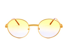 VF 508 18KT Satin Gold (Yellow / Blue), VF by Vintage Frames, glasses frames, eyeglasses online, eyeglass frames, mens glasses, womens glasses, buy glasses online, designer eyeglasses, vintage sunglasses, retro sunglasses, vintage glasses, sunglass, eyeglass, glasses, lens, vintage frames company, vf