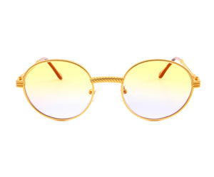 VF 508 18KT Satin Gold (Yellow / Blue)
