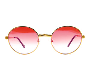VF 508 18KT Gold Signature Edition (Red Gradient) Thumb, VF by Vintage Frames, glasses frames, eyeglasses online, eyeglass frames, mens glasses, womens glasses, buy glasses online, designer eyeglasses, vintage sunglasses, retro sunglasses, vintage glasses, sunglass, eyeglass, glasses, lens, vintage frames company, vf