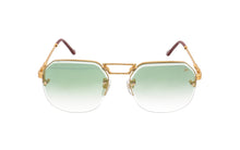 CEO Bevel Drill Mount 18KT Gold (Pastel Green),VF Drill Mount , glasses frames, eyeglasses online, eyeglass frames, mens glasses, womens glasses, buy glasses online, designer eyeglasses, vintage sunglasses, retro sunglasses, vintage glasses, sunglass, eyeglass, glasses, lens, vintage frames company, vf