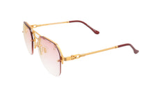 CEO Bevel Drill Mount 18KT Gold (Pastel Pink), VF Drill Mount, glasses frames, eyeglasses online, eyeglass frames, mens glasses, womens glasses, buy glasses online, designer eyeglasses, vintage sunglasses, retro sunglasses, vintage glasses, sunglass, eyeglass, glasses, lens, vintage frames company, vf