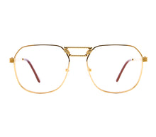 VF CEO Masterpiece 24KT Gold (Clear Flash Gold) Front,VF Masterpiece , glasses frames, eyeglasses online, eyeglass frames, mens glasses, womens glasses, buy glasses online, designer eyeglasses, vintage sunglasses, retro sunglasses, vintage glasses, sunglass, eyeglass, glasses, lens, vintage frames company, vf