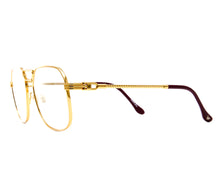 VF CEO Masterpiece 24KT Gold (Clear Flash Gold) Side, VF Masterpiece, glasses frames, eyeglasses online, eyeglass frames, mens glasses, womens glasses, buy glasses online, designer eyeglasses, vintage sunglasses, retro sunglasses, vintage glasses, sunglass, eyeglass, glasses, lens, vintage frames company, vf