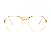 VF Presidential 24KT Gold (Clear Flash Green) Front, VF Masterpiece, glasses frames, eyeglasses online, eyeglass frames, mens glasses, womens glasses, buy glasses online, designer eyeglasses, vintage sunglasses, retro sunglasses, vintage glasses, sunglass, eyeglass, glasses, lens, vintage frames company, vf
