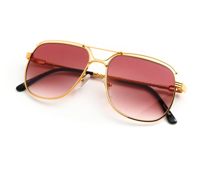 VF OTH Exclusive 18KT Gold (Burgundy) Thumb, VF by Vintage Frames, vintage frames, vintage frame, vintage sunglasses, vintage glasses, retro sunglasses, retro glasses, vintage glasses, vintage designer sunglasses, vintage design glasses, eyeglass frames, glasses frames, sunglass frames, sunglass, eyeglass, glasses, lens, jewelry, vintage frames company, vf