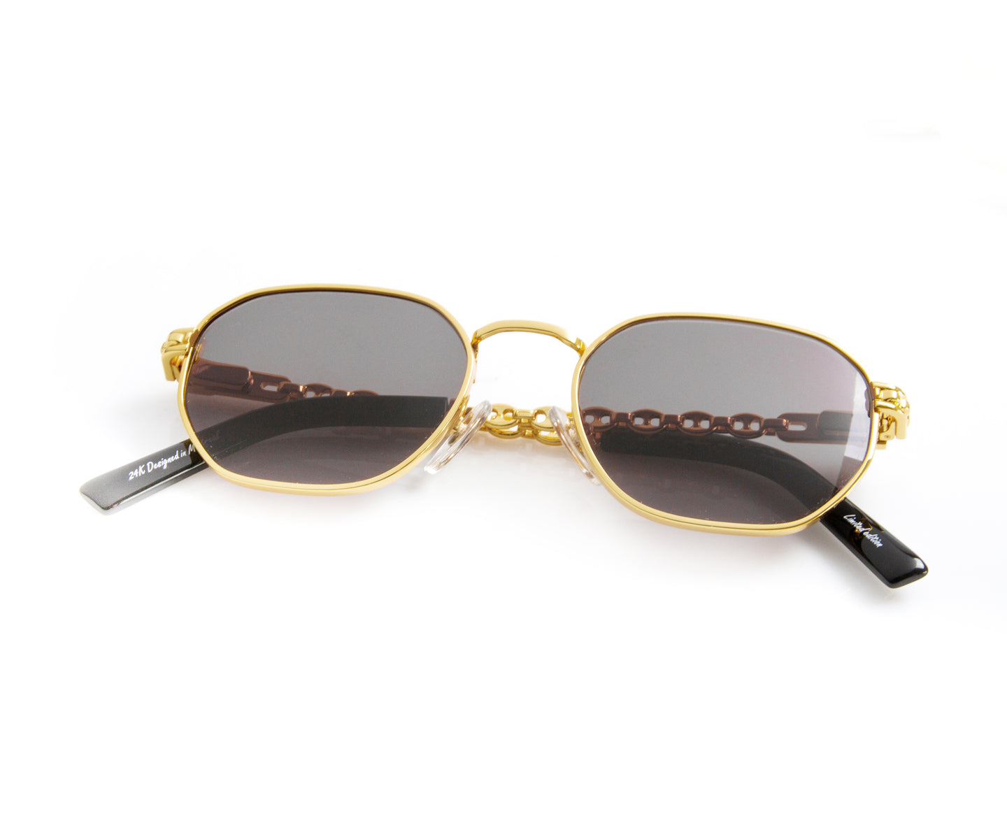 VF Mariner Detroit Player 24KT Gold (Black), VF Masterpiece , glasses frames, eyeglasses online, eyeglass frames, mens glasses, womens glasses, buy glasses online, designer eyeglasses, vintage sunglasses, retro sunglasses, vintage glasses, sunglass, eyeglass, glasses, lens, vintage frames company, vf